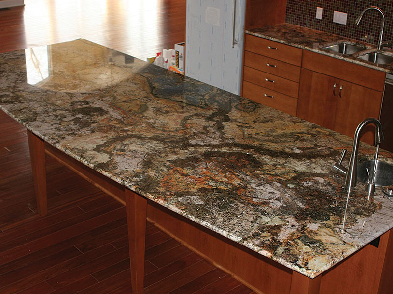 Kitchen Gallery With Light Counter Tops