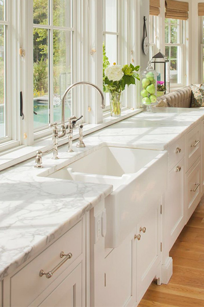 High Quality Charlotte Marble Kitchen Countertops