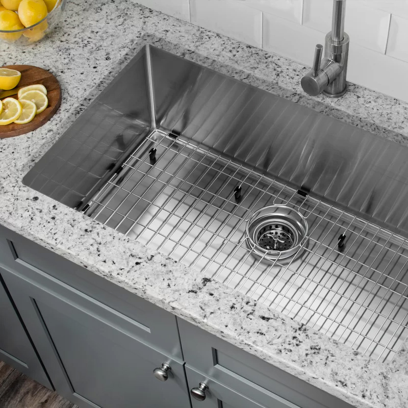 single sink stainless steel