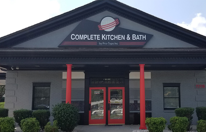 PRO TOPS Kitchen and Bath Remodeling Charlotte Showroom
