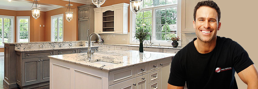kitchen remodeling company - PRO-TOPS - Charlotte NC