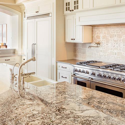 kitchen countertops granite material