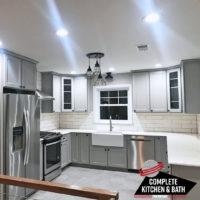 Gray Kitchen Drena